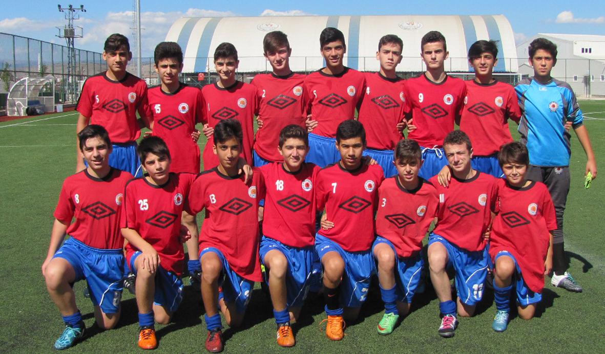 U-15 Cedit'i 4 golle geçti