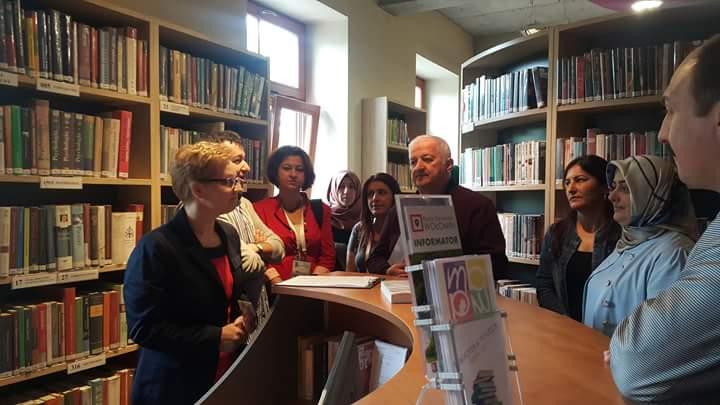 Herkes için kütüphane projesinden belediye  kütüphanelerine yurtdışı ziyaret ödülü