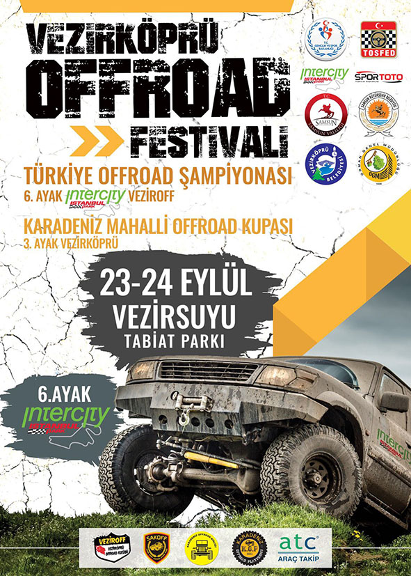 Offroad 23-24 Eylül'de  Vezirköprü'de