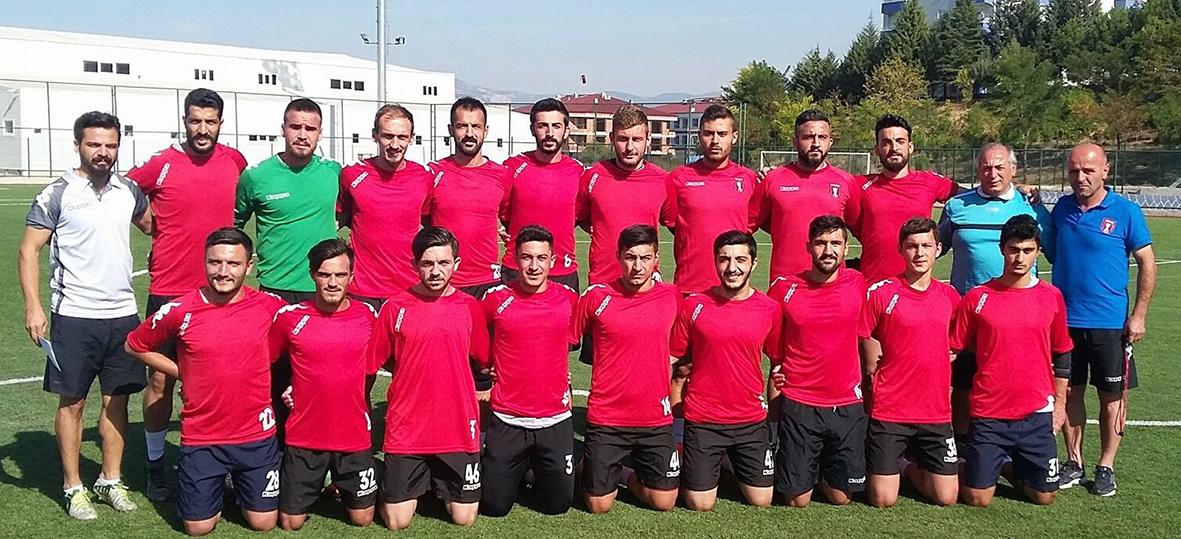 İlk maç Bafra Gençlik..