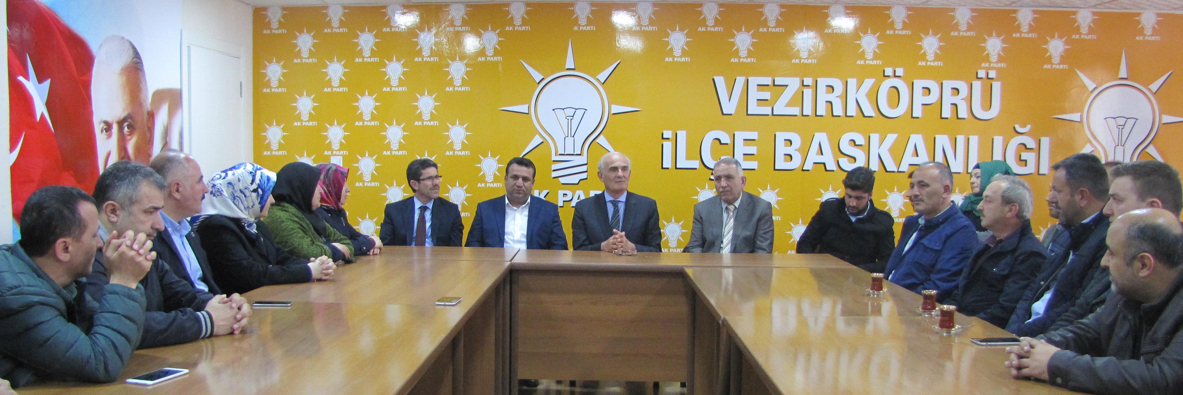 Samsun Büyükşehir Belediye Başkanı Yusuf Ziya Yılmaz; 2014 yılından beri Vezirköprü'nün hizmet alma kapasitesini çok yükselttik