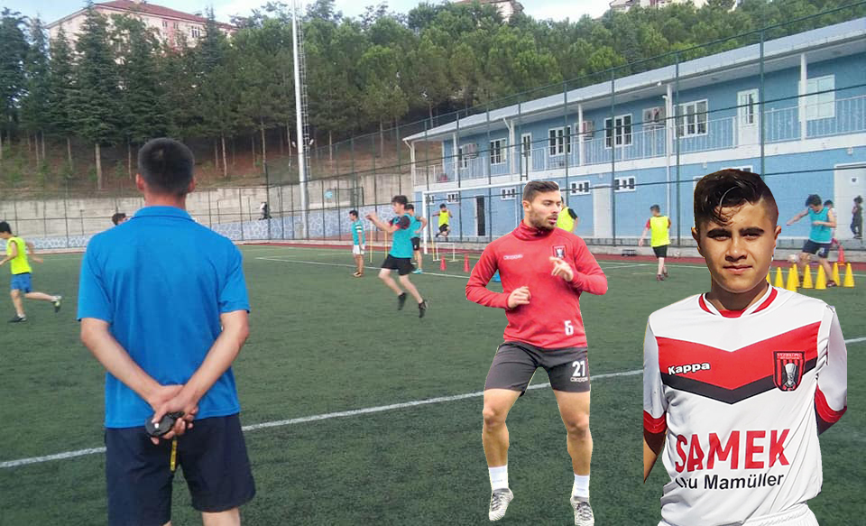 Vezirköprü Belediyespor U-17 takımı ilk yarıda istediğini aldı  U-17'de ikinci yarı başladı