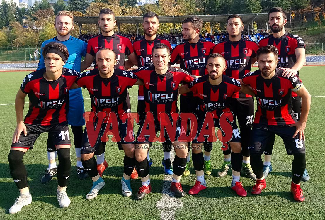 Kırmızı Şimşekler Patladı: 65 Dakikada 5 Gol  Vezirköprü Belediyespor: 5 – Genç Bafraspor: 0