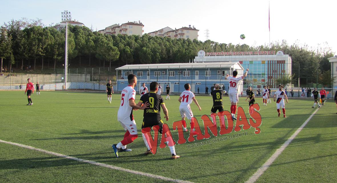 Vezirköprü Belediyespor Çarşamba günü deplasmanda oynadığı maçta Tekkeköy'e yenildi,  evinde Samsun Sporland'a 1 puan hediye etti. Vezirköprü Belediyespor haftayı 1 puanla kapattı