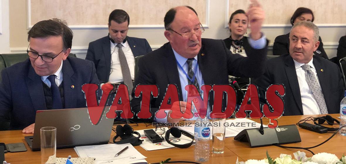 TSO Başkanı Fişekci Özbekistan'da  EİT toplantısına katıldı