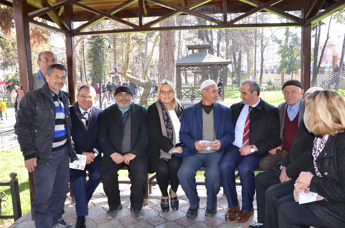 Cumhuriyet Halk Partisi  Samsun Milletvekili Kemal Zeybek; Çarşı, Pazar Esnafı ve  Çalışanlarda Karamsarlık Var