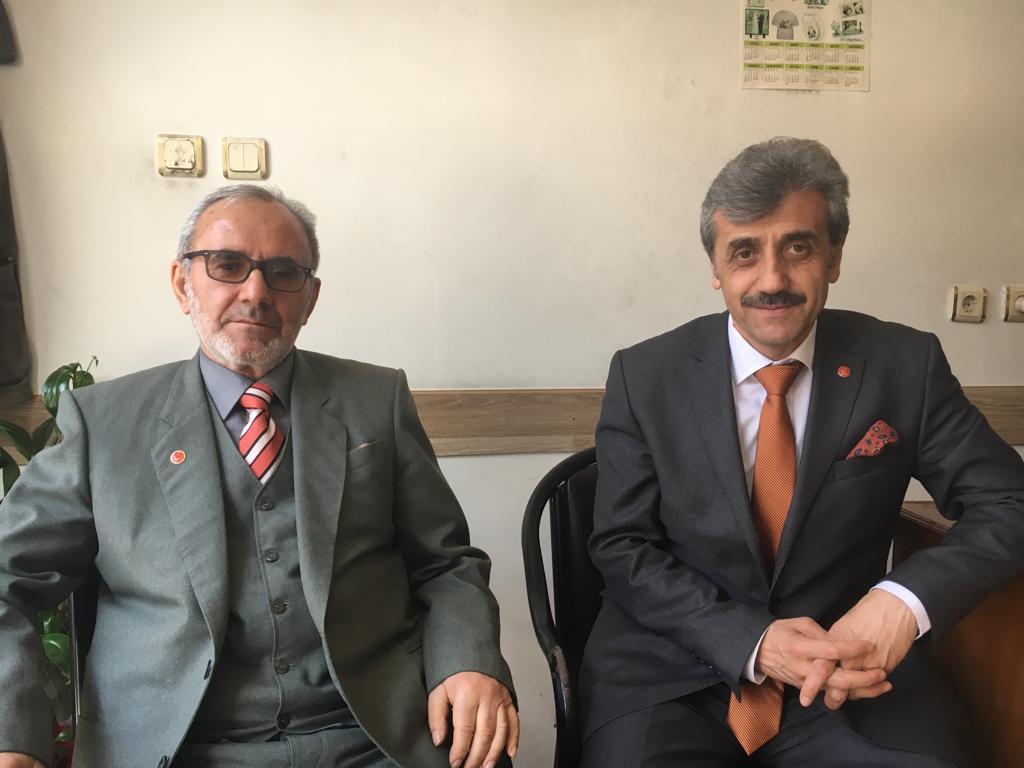 Saadet Partisi adayları gazetemizi ziyaret ettiler