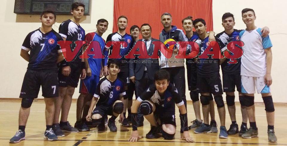 Gençlik ve Spor  Voleybol Takımı  İl İkincisi
