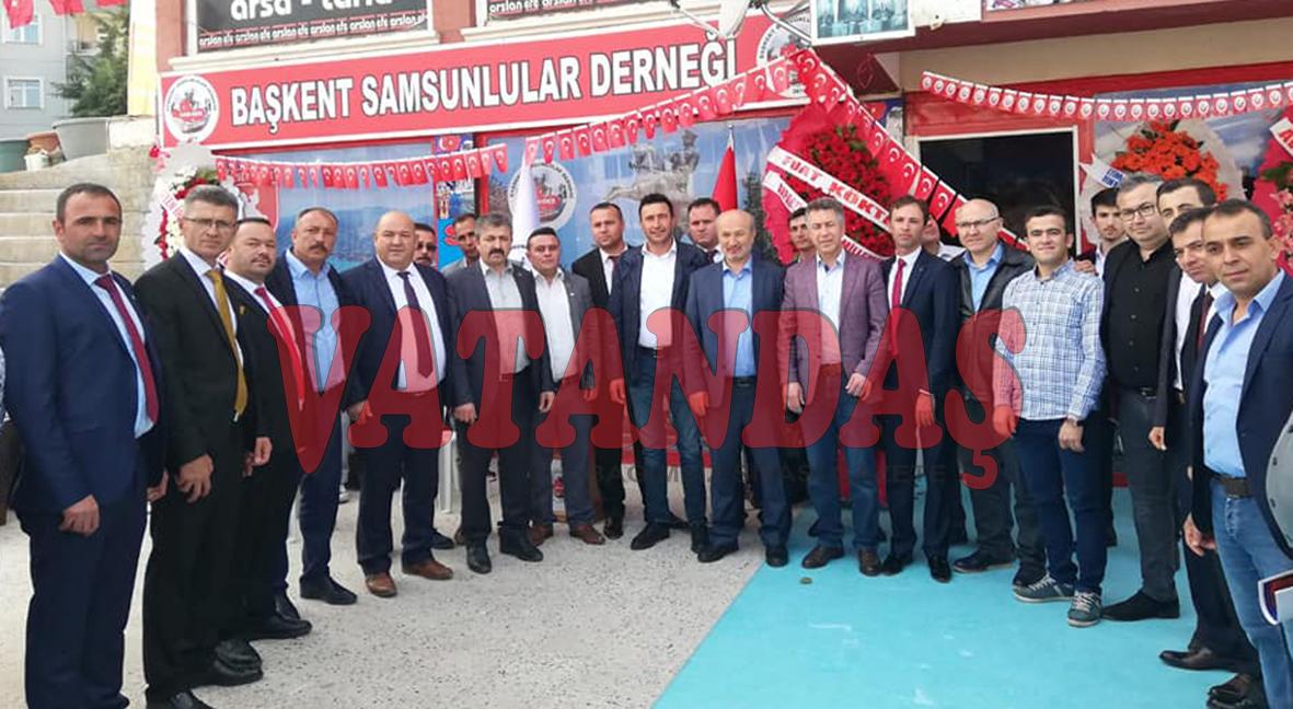 Ankara'da Başkent Samsunlular Derneği Kuruldu