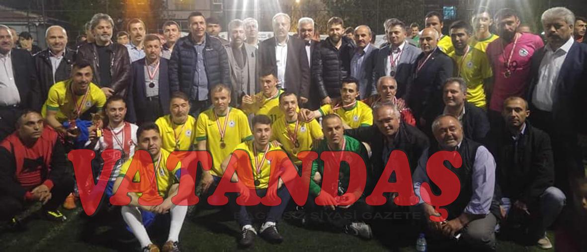 Ankara'da Şampiyon  Güldere-İmircik Tarım Spor..