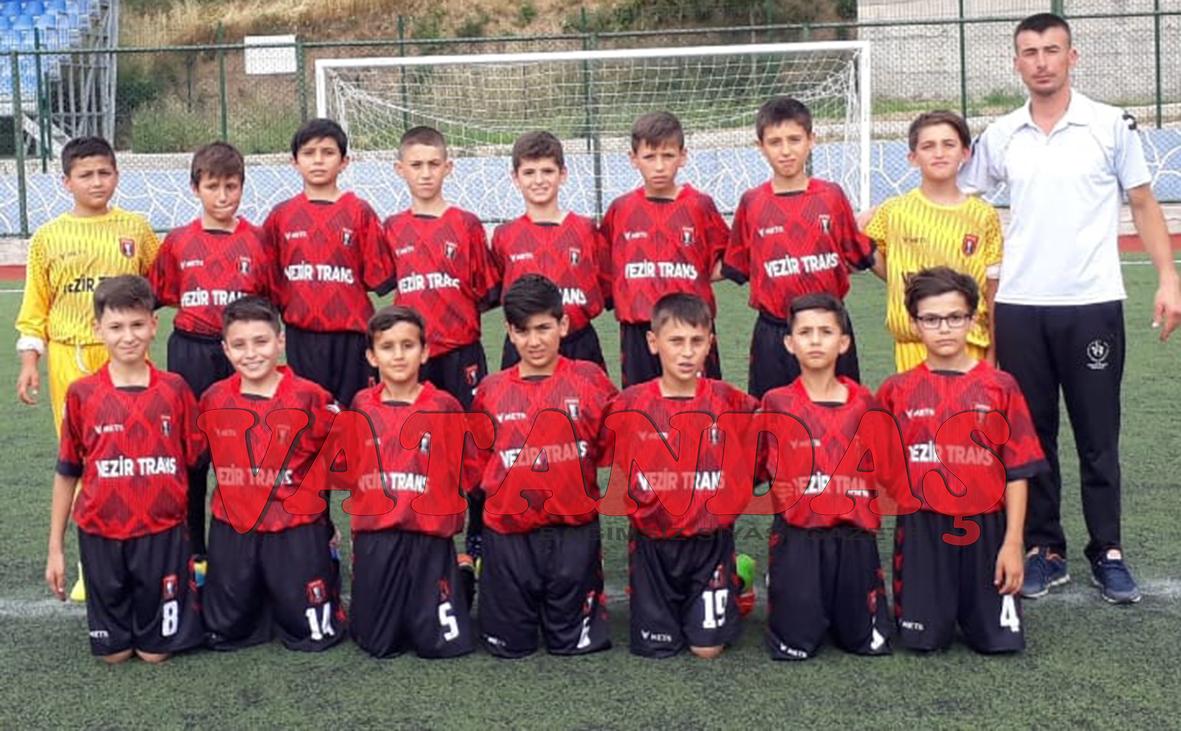 Vezirköprü Belediyespor'da U-11  Lige Hazır
