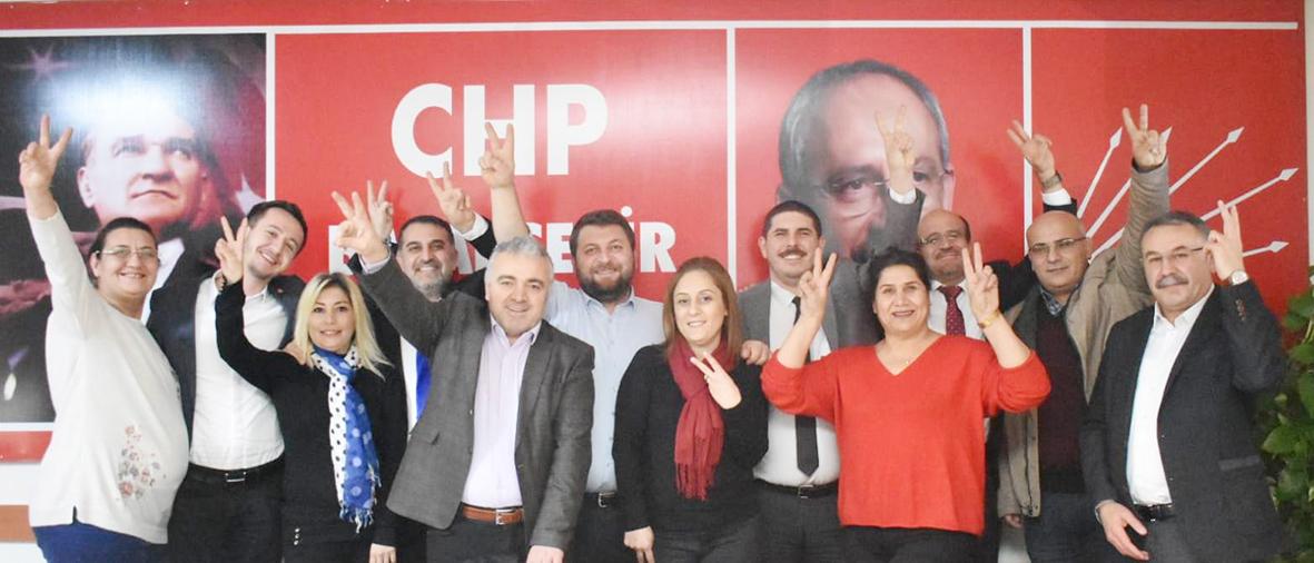 Vezirköprülü Zekeriya Aydın CHP Başakşehir İlçe Yönetimine Girdi Başakşehir'de İlçe Başkan  Yardımcısı oldu