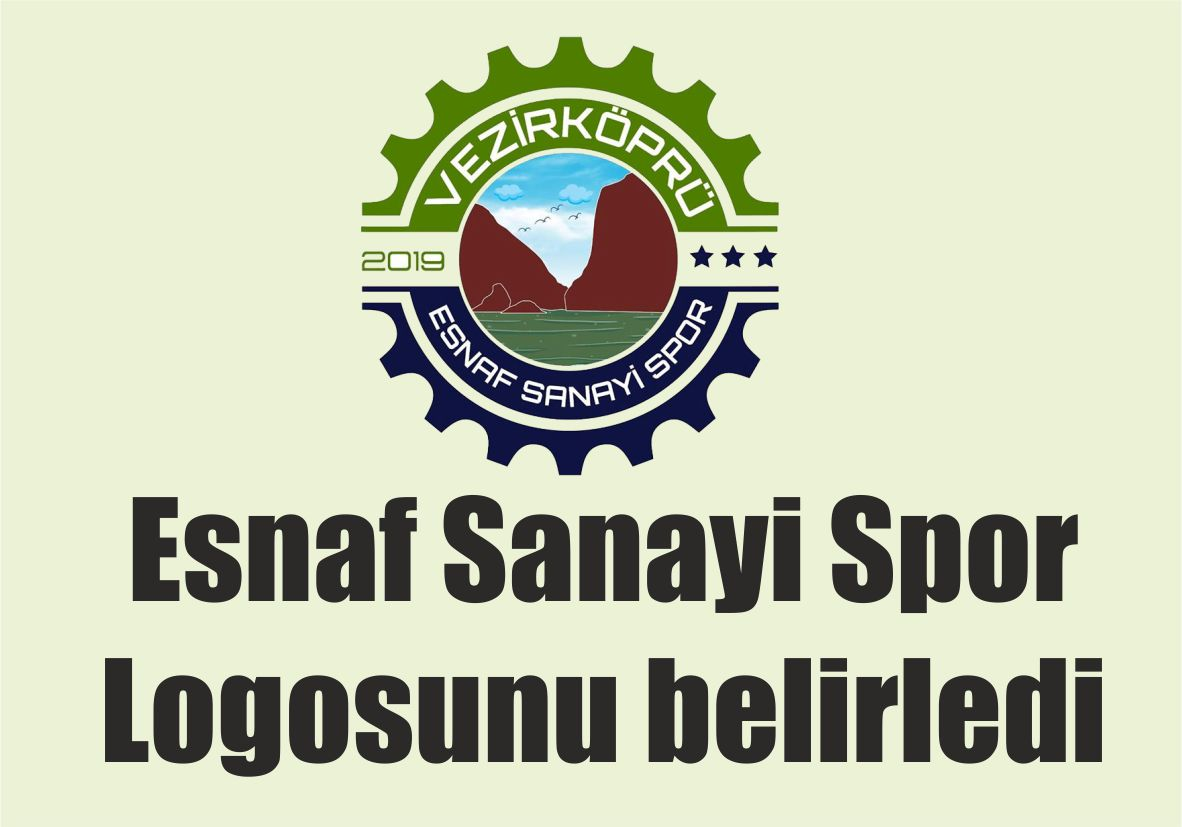Esnaf Sanayi Spor Logosunu belirledi