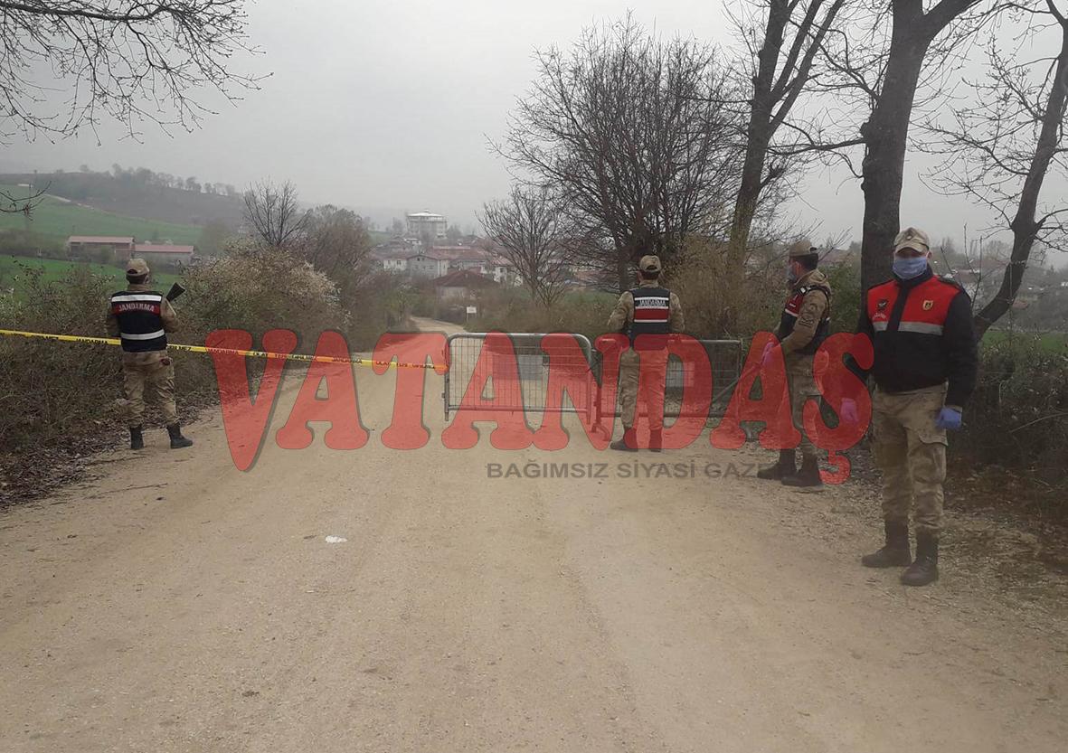 Ovacık Mahallesi İdare Kurulu Kararıyla Karantinaya Alındı