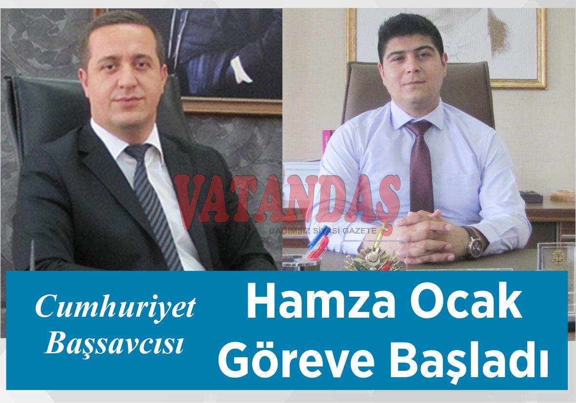 Cumhuriyet Başsavcısı Hamza Ocak Göreve Başladı