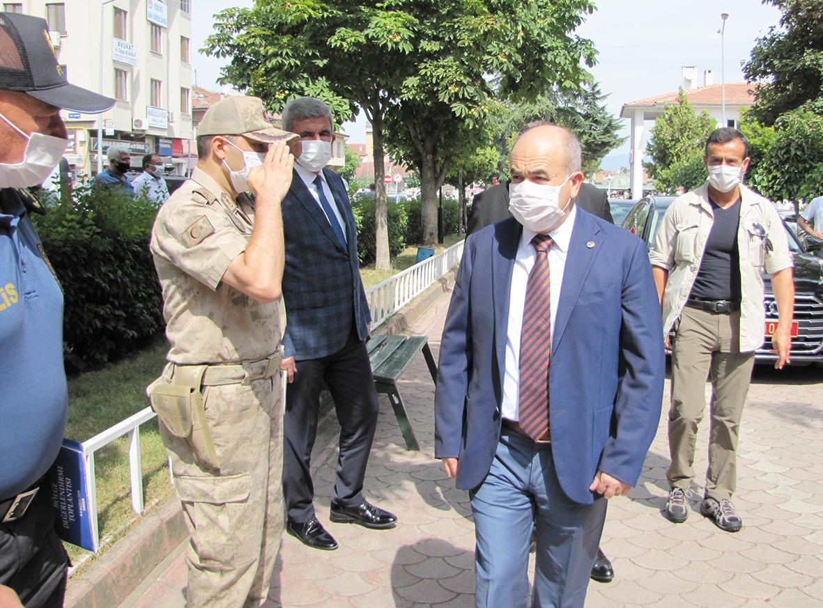 Samsun Valisi Zülkif Dağlı'dan İlçemize Ziyaret