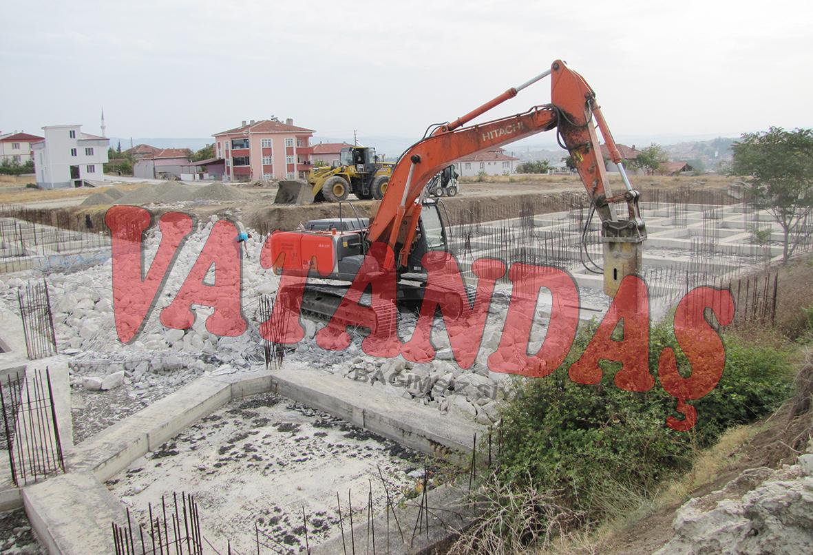 Huzurevi inşaatına  başlandı!..