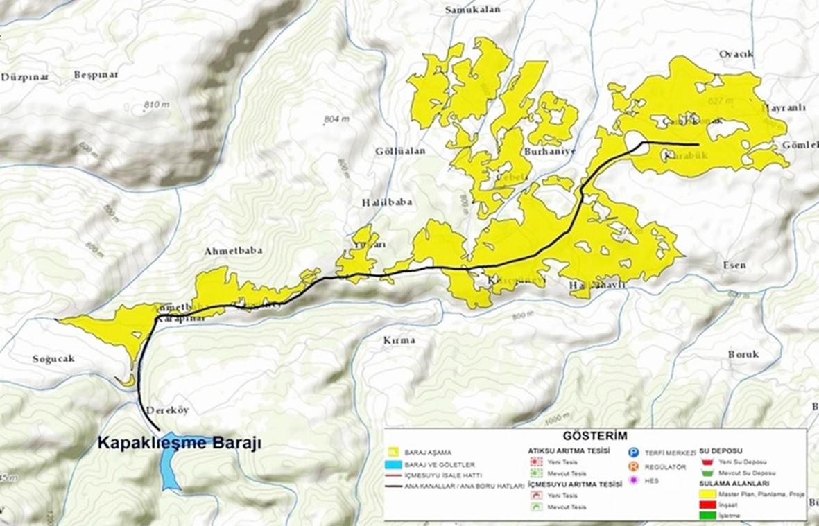 Hem içme hem sulamada kullanılması planlanan Kapaklıeşme Barajı neyi bekliyor?
