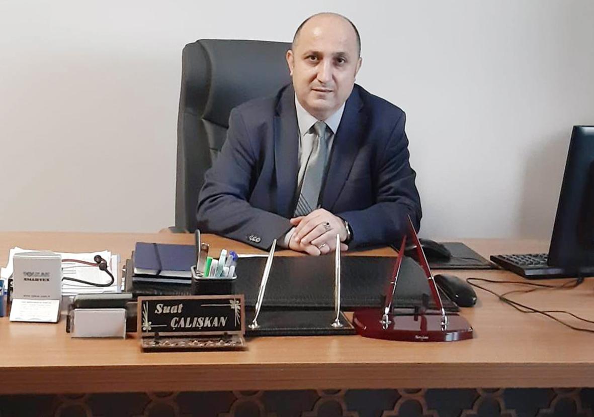 Çalışkan İstanbul'da Şube Müdürü oldu..