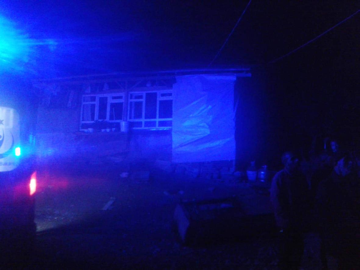 Oruç Mahallesi'ndeki Yangın Korkuttu