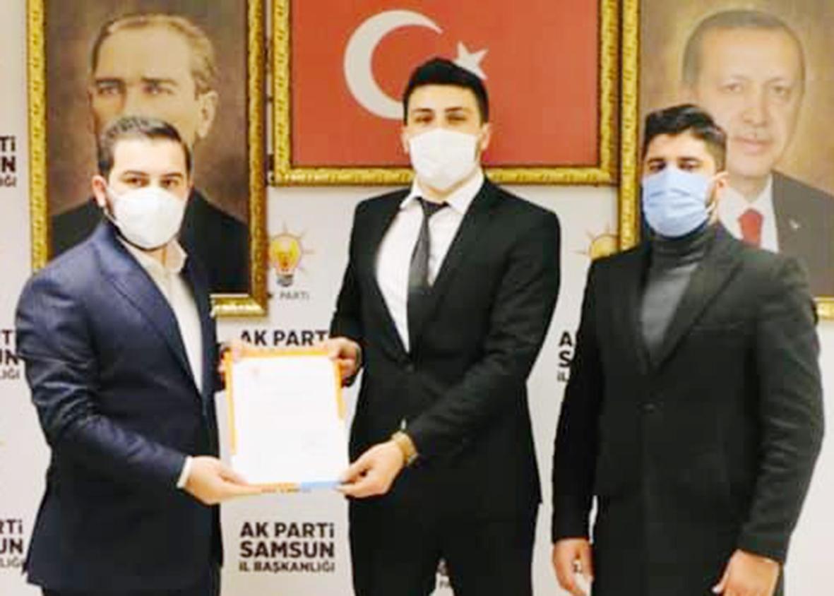 AK Parti Gençlik Kolları  Başkanı Murat Dursun Görevi Mustafa Osma'ya  Devretti