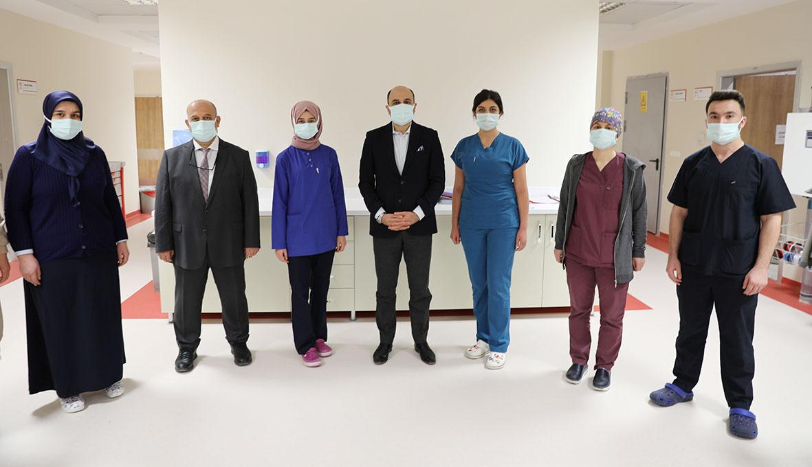 """Samsun İl Sağlık Müdürü Dr. Öğr. Üyesi Muhammet Ali Oruç: """"Pandemiyle Yürütülen Mücadelede  Yeni Hastane Kalkan Oldu"""""""