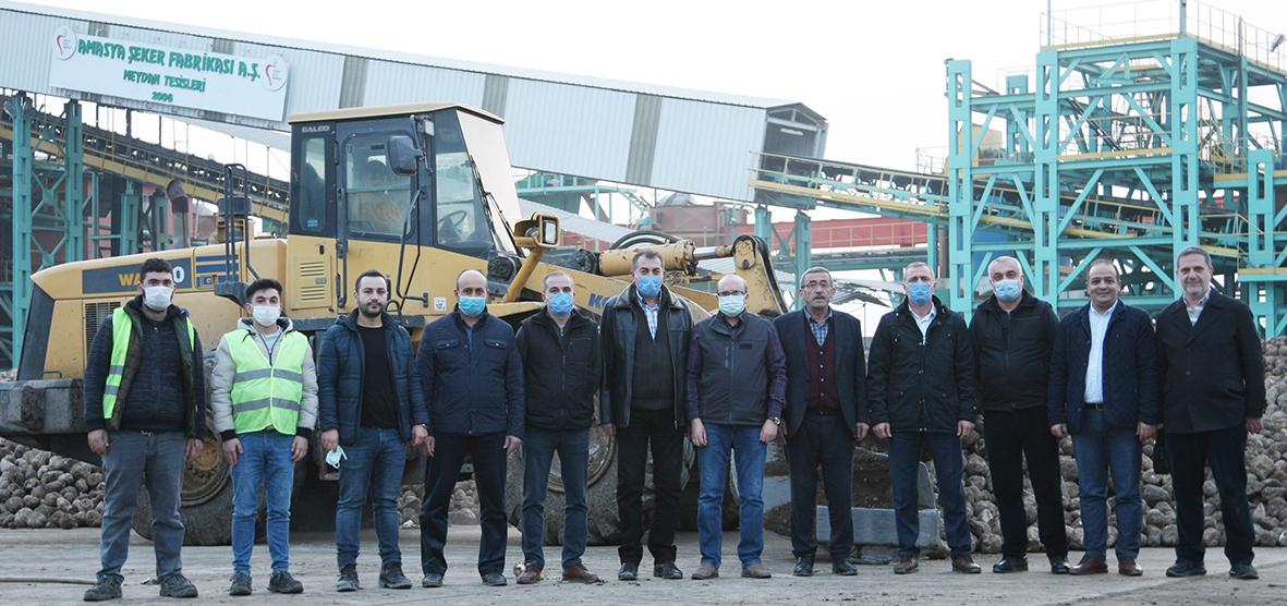 Amasya Şeker Fabrikası tarafından gerçekleştirilen 67.Pancar Alım Kampanyası Sona Erdi