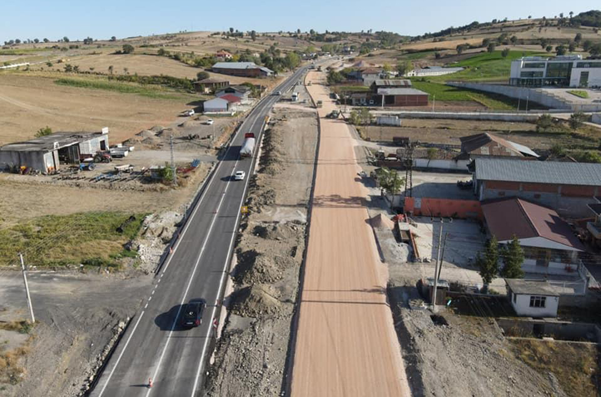 Vezirköprü-Havza  yolu için  protokol imzalandı. YOL, bu kez olsun!