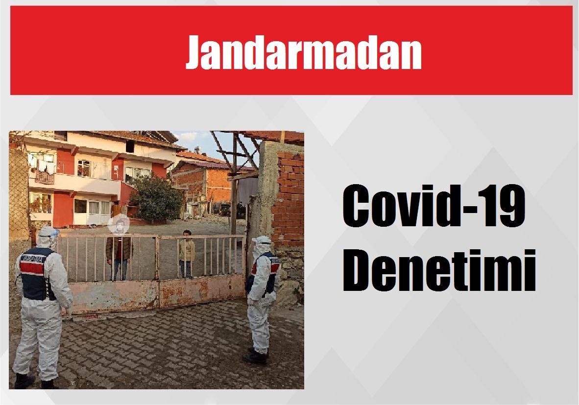 Jandarmadan Covid-19 Denetimi