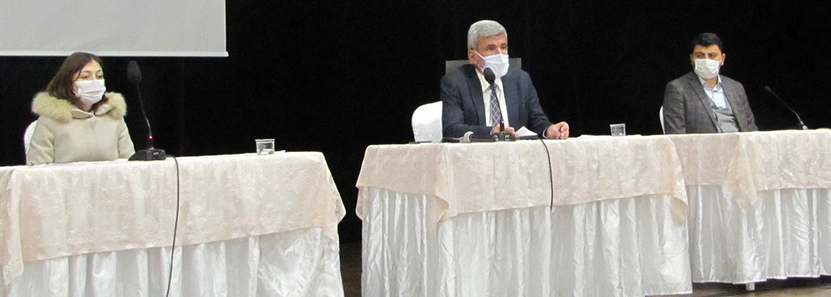 Belediye Meclisi Mart Toplantısını yaptı. İmar Revizyonu itirazları komisyona havale edilecek