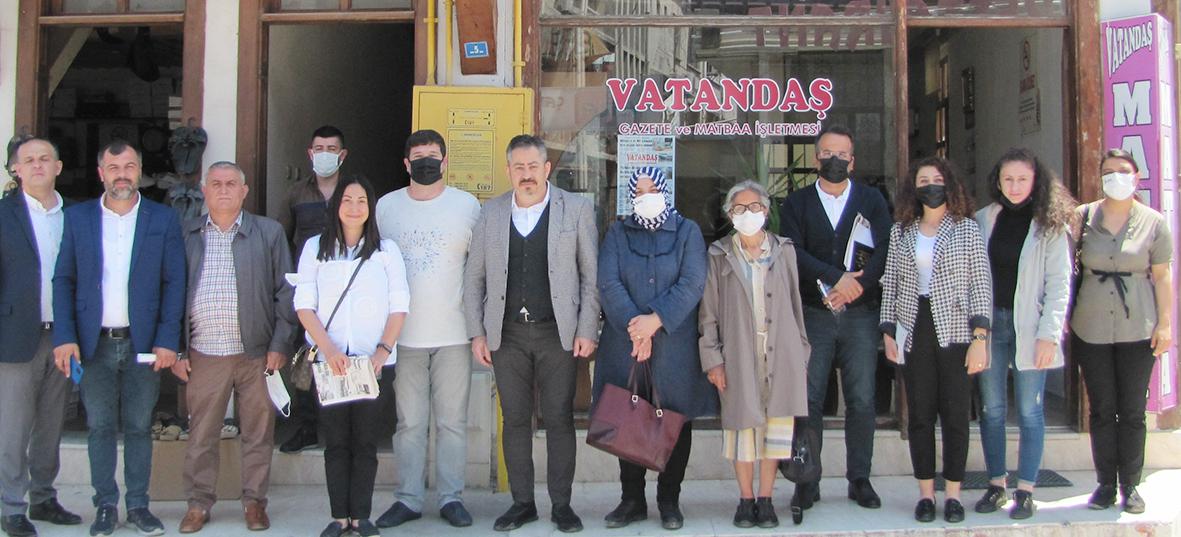 DEVA Partisi İl Yönetimi Vezirköprü'deydi.