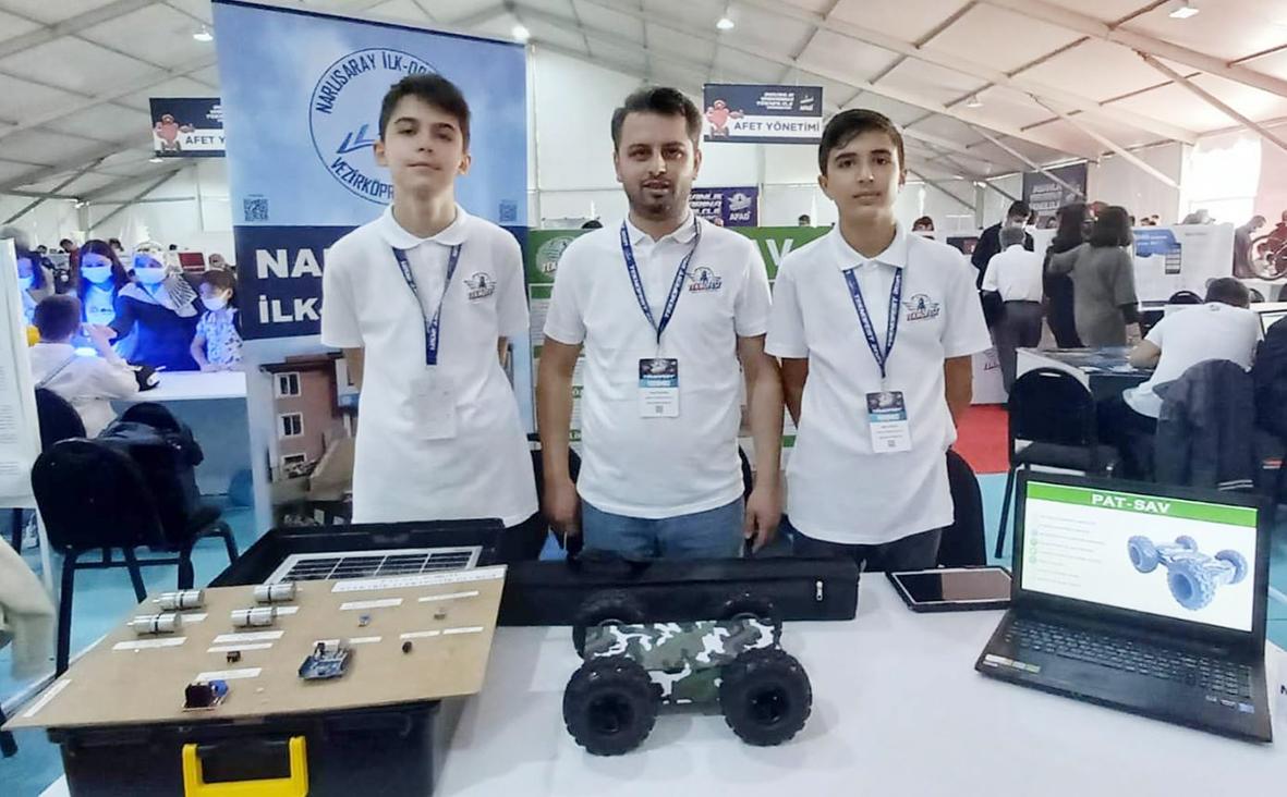 Narlısaray Robotics Takımı Teknofest 2021'de  Türkiye  4.sü Oldu